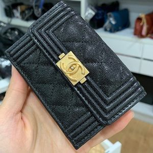 Chanel Mini Boy Wallet